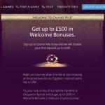 CasinoNile Bonus