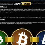 CryptoThrills Payment Options